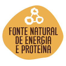 Fonte natural de energia e proteína